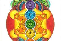 Chakras  / Subtle energy channels running through the body connecting to our mental, physical and emotional well being