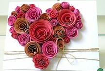 Hearts quilling