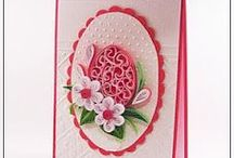 Easter quilling cards