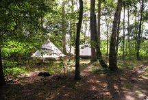 Kamperen / Kamperen camping tent