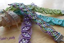 My bracelets / Macrame bracelets, charm bracelets, shambala bracelets, friendship bracelets, handmade jewelry