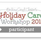 Online card class Holiday Cards 2014