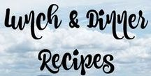 Lunch & Dinner Recipes /  Lunch and Dinner recipes