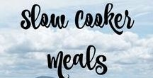 Slow Cooker Meals /  Slow cooker and freezer meals
