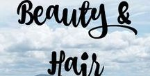 Beauty & Hair / Skincare, makeup, hair care products and tutorials!