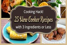 Slow Cooker Recipes 2 Try! / A collection of slow cooker recipes I want to try.
