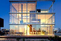 Architectonisch hoogstandje op IJburg / Deze prive woning van Hans van Heeswijk is op alle 3 de verdiepingen geheel voorzien van KELLER minimal windows.