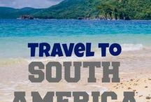 Travel to South America / South America travel inspiration - find travel destinations and activities filled with luxury, adventure and romance in countries such as Peru, Chile, Argentina, Brazil, Ecuador, Bolivia, Columbia