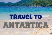 Travel to Antartica / Antarctica travel inspiration - find travel destinations and activities filled with luxury, adventure and romance