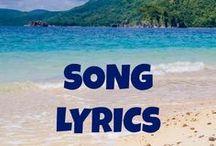 Song Lyrics / Inspirational song lyrics