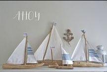 Profumo di mare / Idee e spunti per decorare la nostra casa con piccoli oggetti che ricordano il mare.