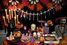 Dia de los Muertos / Ideas for celebrating Dia de los Muertos on November 1