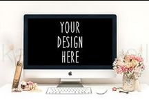 Building My Brand: Inspiration Board 2 / Web Design, graphics, fonts and colors I like for my Company Branding. ;)