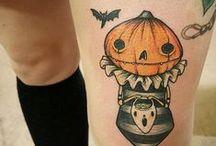 Halloween Tattoos / Killer Halloween tattoo ideas