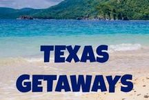 Texas Getaways / Texas travel inspiration - find travel destinations and activities filled with luxury, adventure and romance in Texas