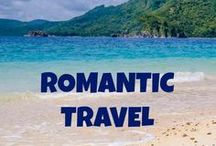 Romantic Travel / Romantic travel inspiration - find travel destinations and activities filled with luxury, adventure and romance