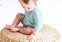 Ropa de punto de algodón / Diseños de punto para bebé y recién nacido de la Colección SS17. Modelos 100% algodón.
