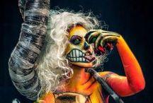 CARACTERIZACIÓN / Maquillaje, posticería, personajes.  Un repaso por los diseños y personajes más destacados de los cursos de caracterización y maquillaje de Thuya Escuela