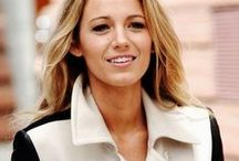 Style icon: Blake Lively / I fall asleep thinking about guys named Louboutin and Laurent.