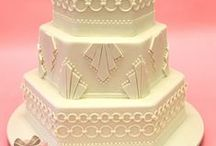 Art Deco Wedding Cakes / This board is dedicated to Art Deco wedding cake designs.
