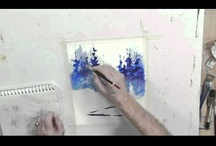 watercolour tutorials / by Pat Hinch