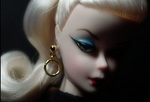 Barbie........... / Antique, Silkstone , Modern, fashions / by Steven Casey