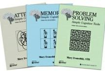 Speech Therapy and Medical Workbooks / A colection of workbooks meant to improve the communication and cognitive skills of patients