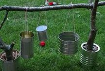 The Great Outdoors / Clever and easy DIY outdoor activities and décor ideas