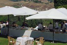 BORGO DI CASTELVECCHIO / SUMMER EVENT 2013 CATERING © 2013-2014 All Rights Reserved  GUIDI LENCI