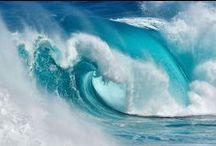 WAVES OCEANS / BLUE OCEAN