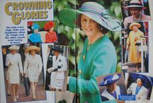 SARAH FERGUSON - FERGIE - CLIPPINGS