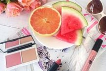 Peachy / Peach and Coral looks for Spring by Lily Lolo
