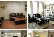 Room Makeovers  / Inspiring before and after pics we love!