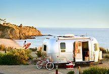 Caravanas y dormir en el campo / Caravanas, coches adaptados para viajar originales y unicos.  / by Bless this mess Vintage