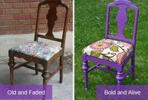 Furniture Makeovers / Give your old dressers, chairs and other furniture a face lift
