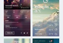 Mobile & UI Design