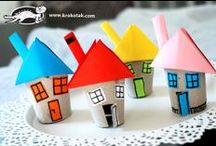 DIY - KIDS - au bout du rouleau / des activités DIY pour les enfants en utilisant des rouleaux de papier toilette, papier absorbant ou papiers cadeaux