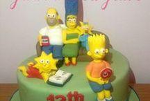 Kids birthday cake / Mooie taarten