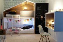 KIDS craft room / Des idées pour faire un coin créatif dans les chambres d'enfant!