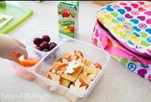 Kid-Approved Healthy Lunches / Healthy, real food lunches that are simple for parents to make and appealing for kids to eat!