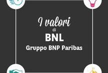 I nostri valori / Il successo e l'anima di BNL Gruppo BNP Paribas si fondano sul rispetto di 4 valori essenziali.