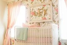 Baby Girl Nurseries / by Jade Molina
