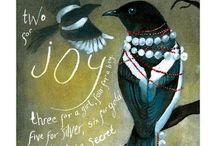 Magpies Jewel Box...et alia / Writers are magpies by nature, always collecting shiny things, storing them away and looking for connections of things.  John Connolly   Read more at http://www.brainyquote.com/quotes/quotes/j/johnconnol526113.html#Ek5ZSORrzdj5JqJv.99