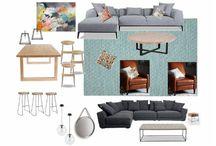 Krysti & Steve / Updating living/dining space