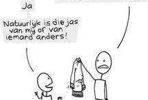Cartoons / grappige cartoons over hoogbegaafdheid