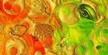 LIME/GREEN ORANGE AND YELLOW