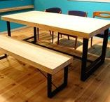 Iron table / bench