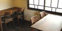 店舗デザイン事例:cafe 楽々 LaLa@愛知県豊明市