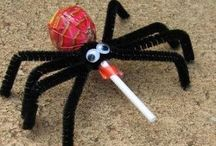 Halloween / Spooky scary & shocking sweet treats peppered with a few shocking images of .......