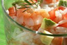 Garnalen gerechten / Overheerlijke garnalen gerechten